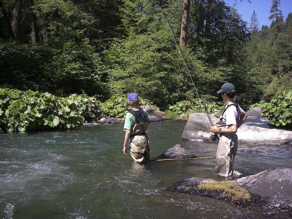 Future fly fisherman of northern california for Fly fishing northern california