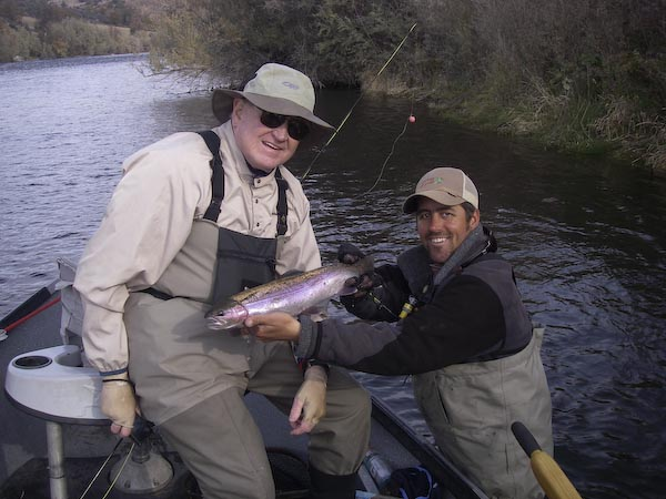 2 days of magnificent fishing klamath river for Klamath river fishing report