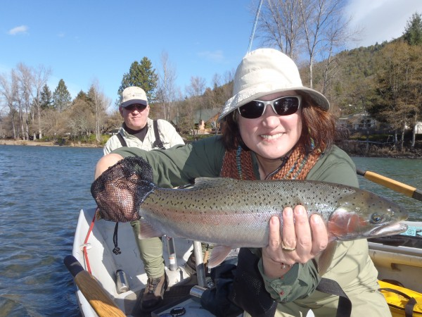 Rogue river fishing report wild waters fly fishing for Rogue river fishing report