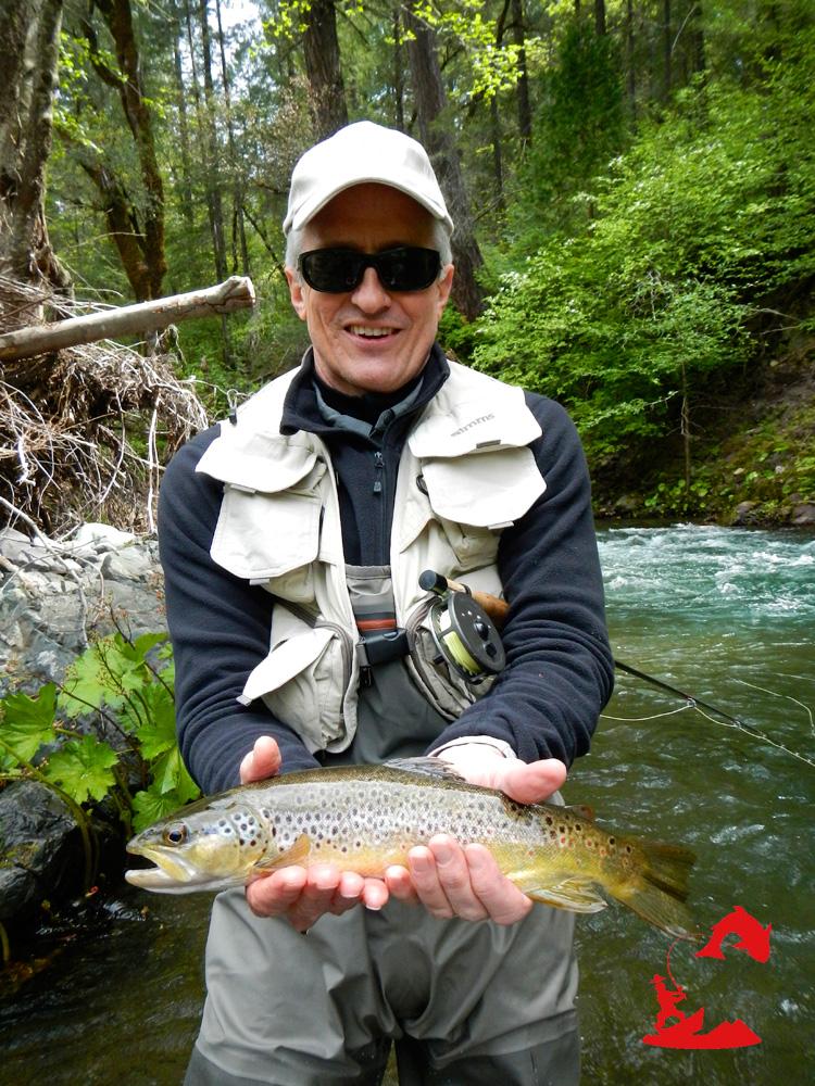 Freestyle walker wild waters fly fishing for Plenty of fish sacramento