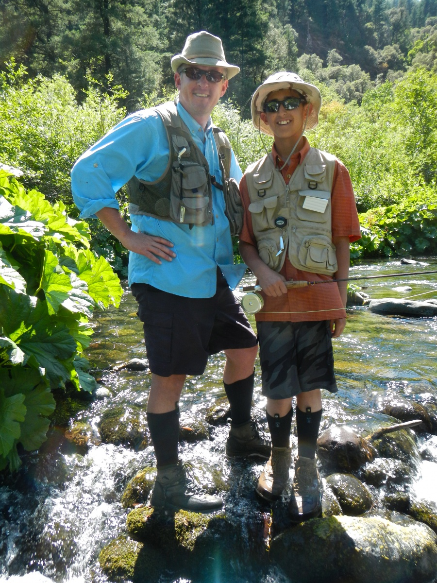 State of jefferson northern california and southern for Fly fishing southern california