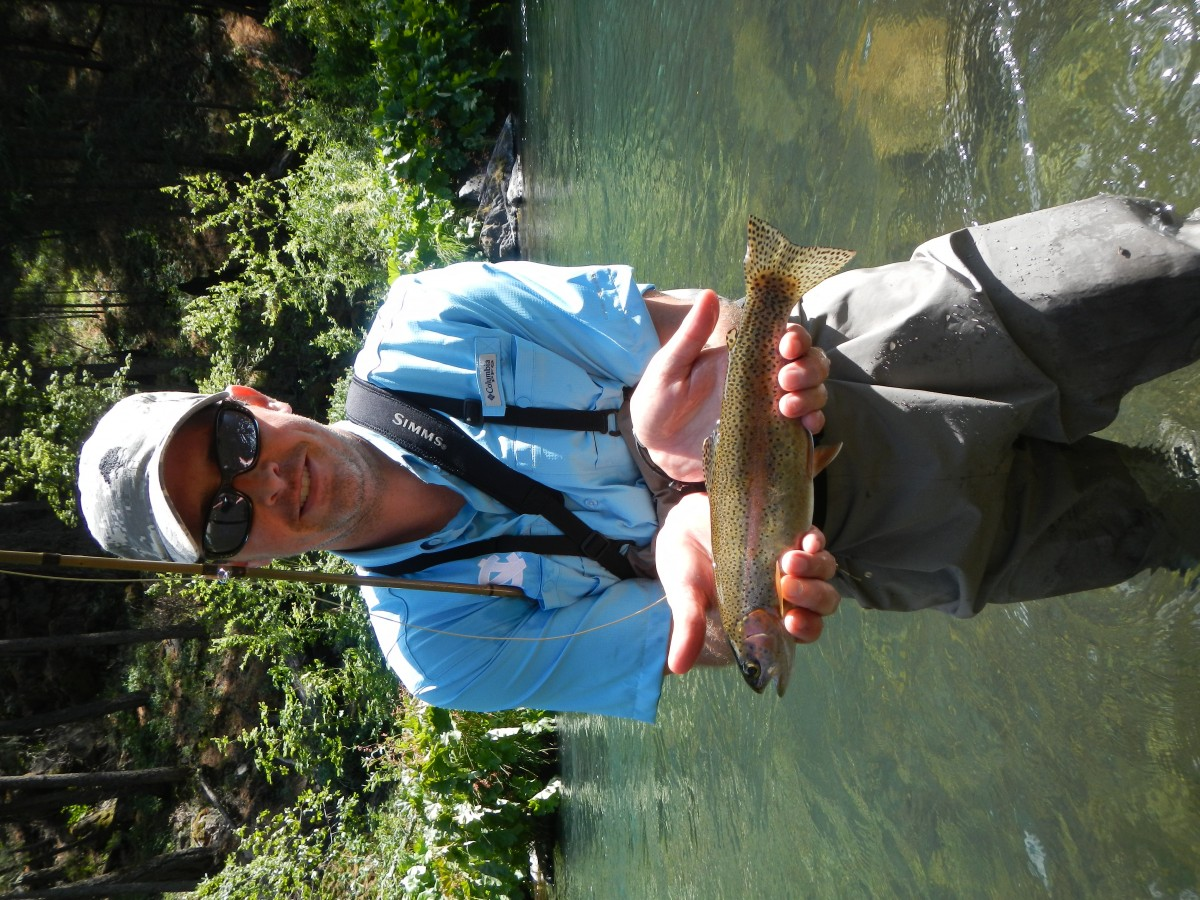 State of jefferson northern california and southern for Southern oregon fishing report