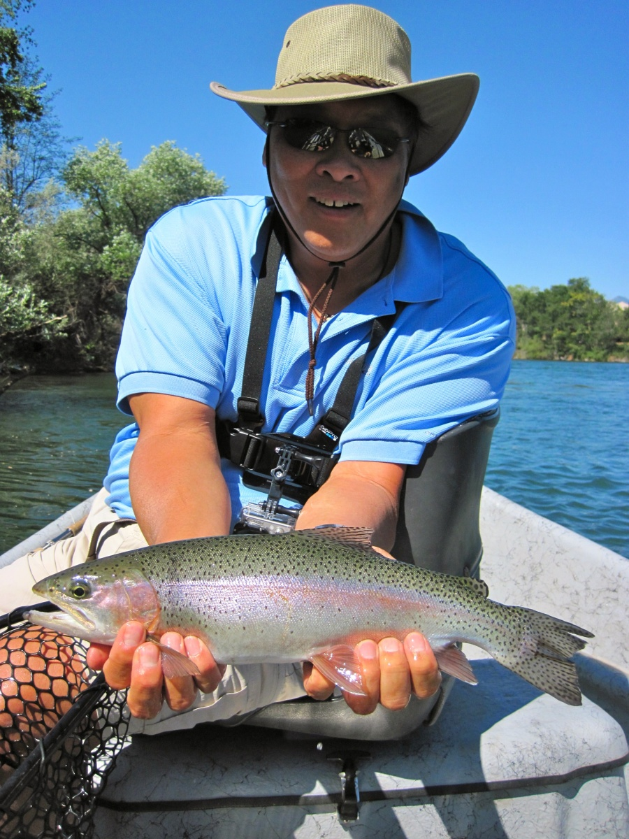 State of jefferson northern california and southern for Norcal fishing report