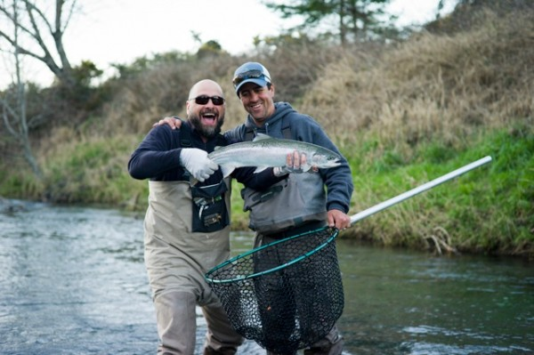 Coastal steelhead bring out the grins