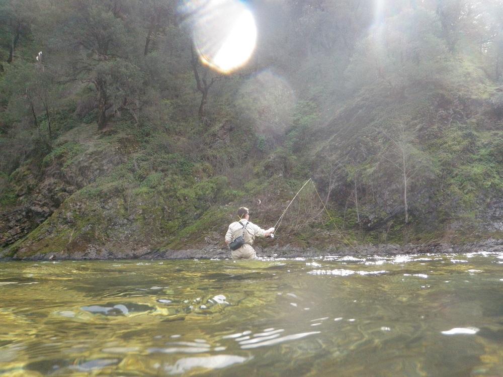 Northern california southern oregon fishing report april for Fly fishing northern california