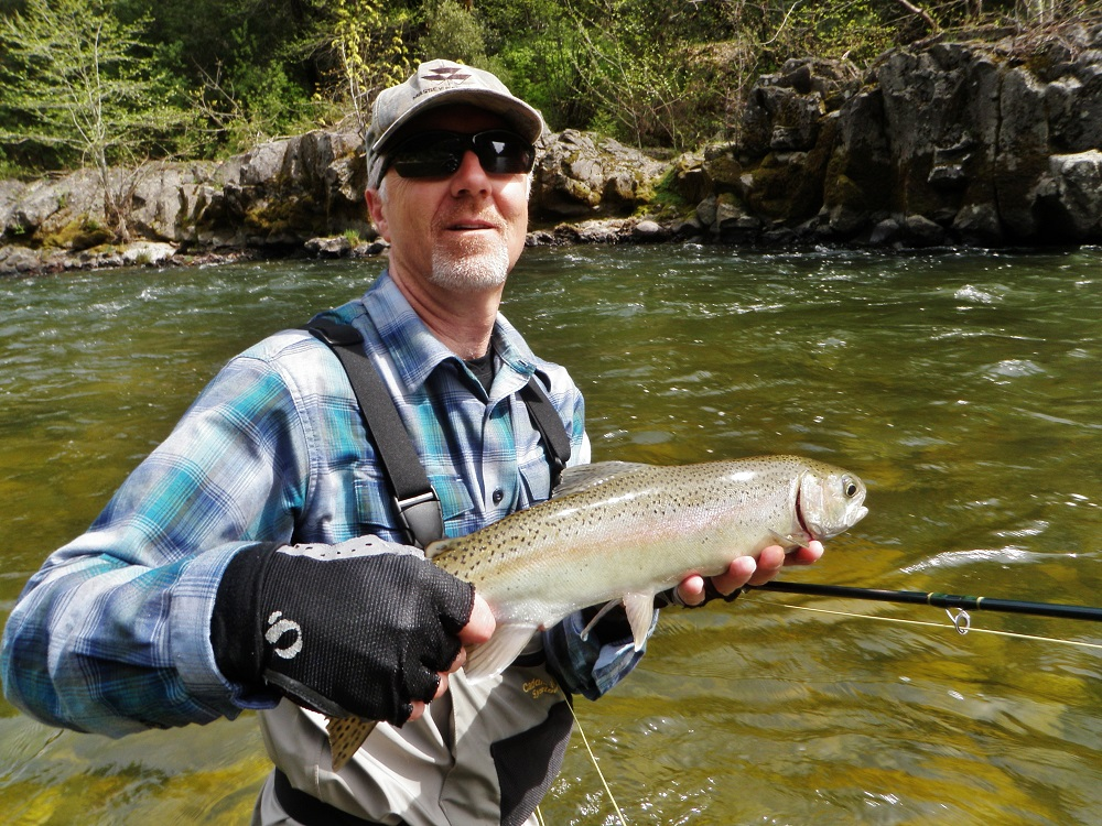 Northern california southern oregon fishing report april for Southern oregon fishing report