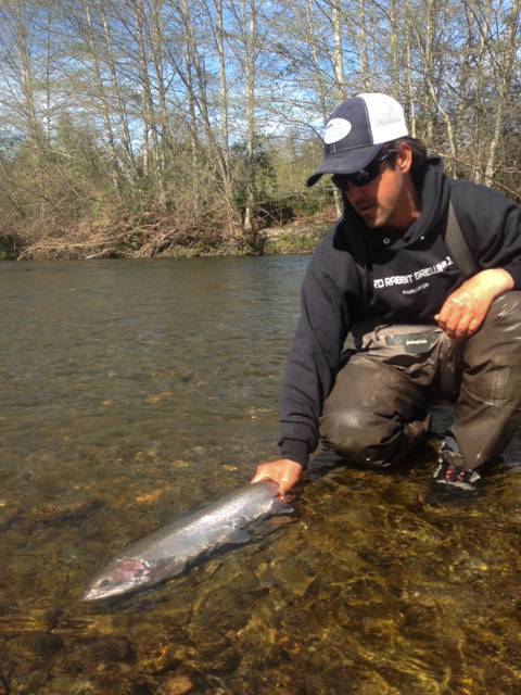 Chuck wild waters fly fishing for Southern oregon fishing report