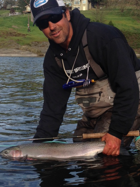 Chuck2 wild waters fly fishing for Southern oregon fishing report
