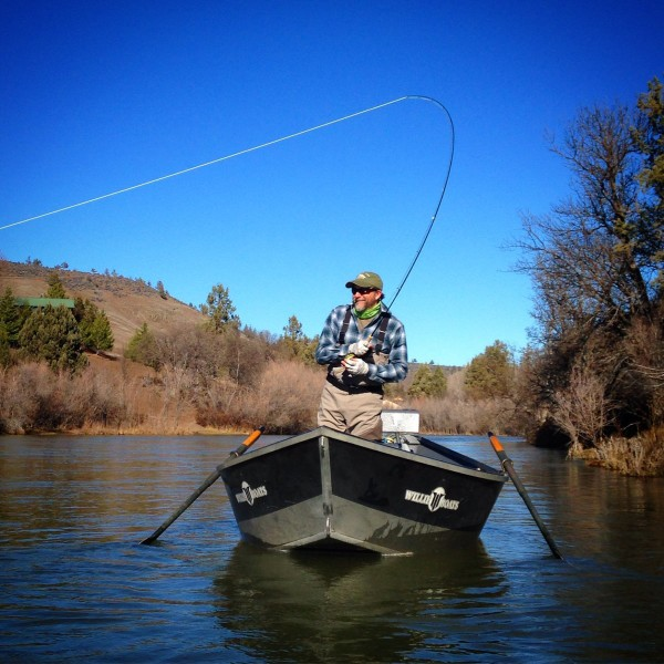 March 2016 wild waters fly fishing for Klamath river fishing report