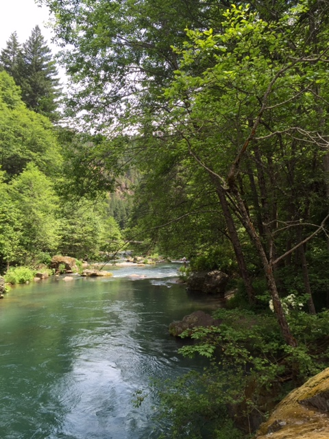 McCloud River. Photo by Chuck V